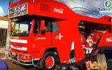 Caravana da Coca-Cola em Capinópolis (Foto: Paulo Braga/Tudo Em Dia)