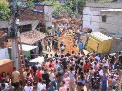 As autoridades informaram que as comunidades de Niterói estavam avisadas que o município estava em estágio de atenção e alerta por causa das fortes chuvas que atingem o estado do Rio