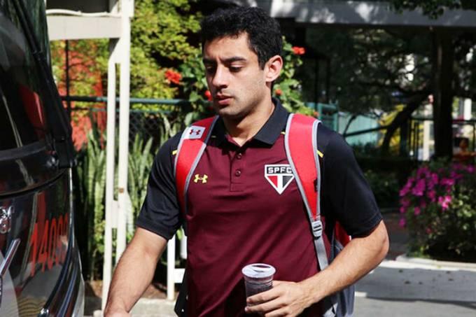 O jogador Daniel, ex-São Paulo (Rubens Chiri/saopaulofc.net/Divulgação)