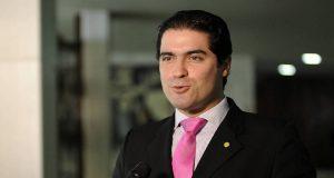 O deputado federal Newton Cardoso Jr. (MDB-MG) concede entrevista - Lúcio Bernardo - 7.fev.2017/Agência Câmara