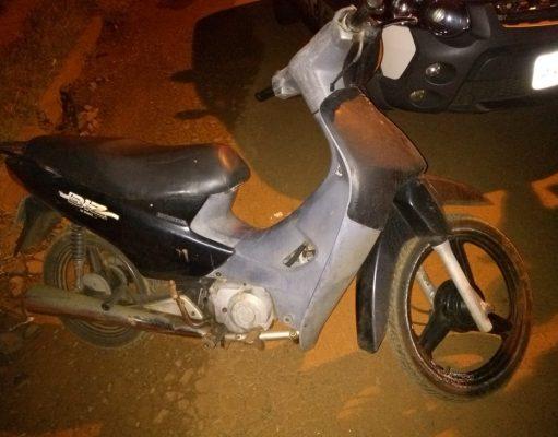 Motoneta Honda Biz furtada em Ituiutaba (Foto: PMMG/Divulgação)