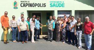 Centro de Combate a Endemias é inaugurado em Capinópolis pelo prefeito Cleidimar Zanotto