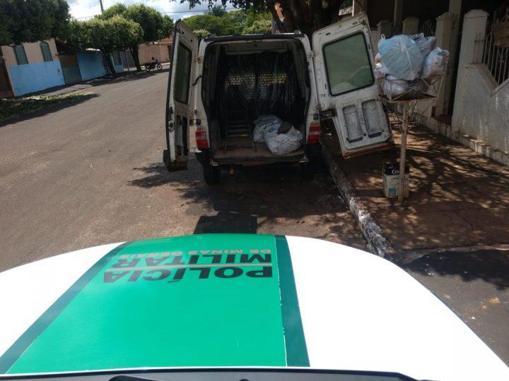 A PMA chegou até o carvão após denúncias (Foto: PMA/Divulgação)