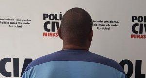 Dejair Ferreira Rosa, 47 anos, suspeito de desvio de cargas de plumas de algodão (Foto: PCMG/Divulgação)