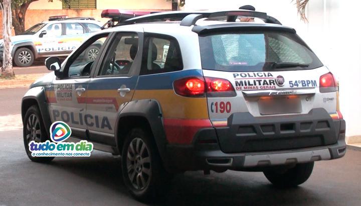 Viatura PM (Foto: Paulo Braga/Tudo Em Dia)