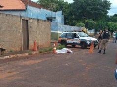 Vítima foi alvejada por vários disparos (Foto: Reprodução/Realidade Pratense)
