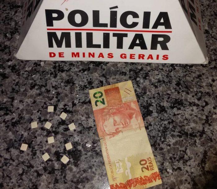 Comprimidos de ecstasy apreendidos pela PM (Foto: PMMG/Divulgação)
