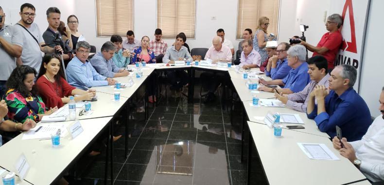 Reunião ocorreu ocorreu na sede da AMVAP na tarde desta terça-feira (29)
