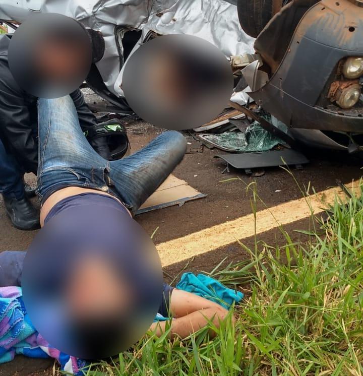 O ocupante de um dos veículos morreu no local