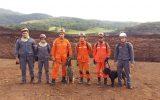 Equipes do Triângulo Mineiro seguiram para Brumadinho — Foto: Corpo de Bombeiros/Divulgação