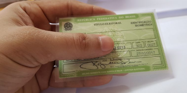 Título de eleitor (Foto: Paulo Braga/Tudo Em Dia)