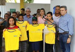 Prefeito inaugura novos equipamentos sociais no Pequis (Foto: Ascom)