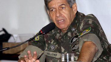 O ministro chefe do Gabinete de Segurança Institucional (GSI), Augusto Heleno (Foto: Antônio Cruz/Agência Brasil)