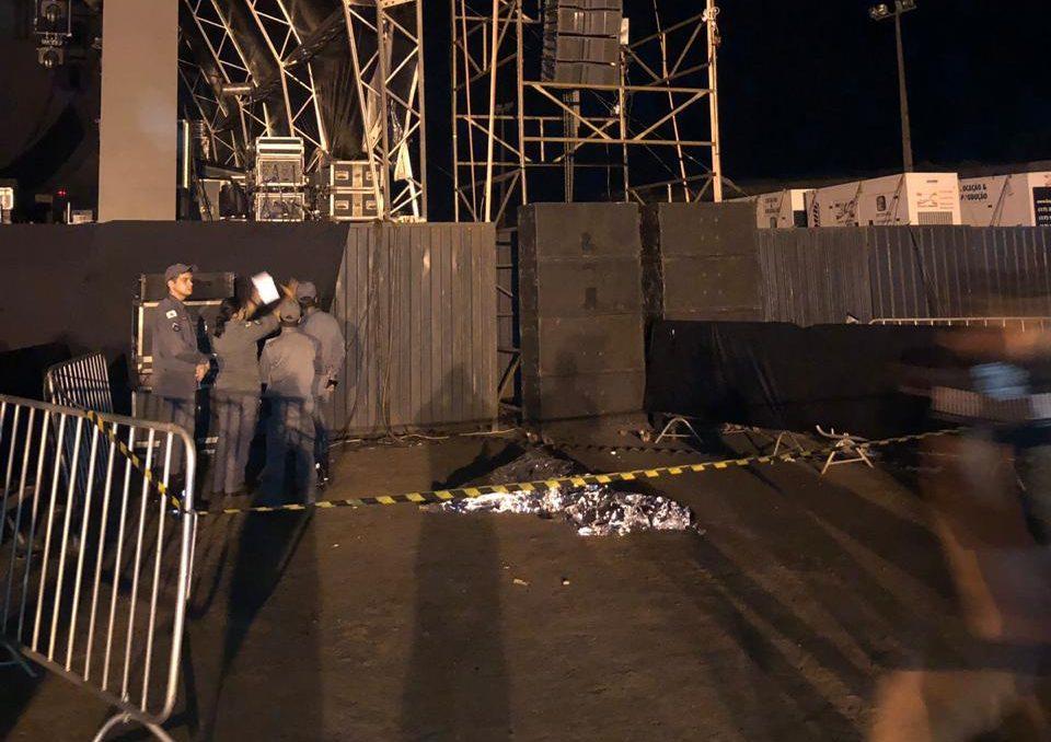 Carlos Barbosa de Souza morreu no local — Foto: Bombeiros/DivulgaçãoCarlos Barbosa de Souza morreu no local — Foto: Bombeiros/Divulgação