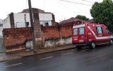 Bombeiros foram acionados para atenderem a ocorrência (Foto: Bombeiros/Divulgação)