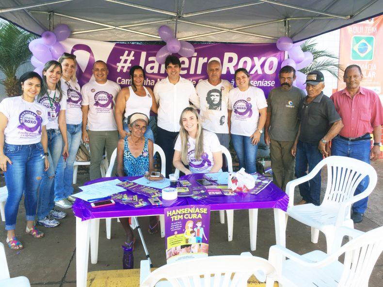 Ação foi realizada no Centro de Capinópolis (Foto: Divulgação)