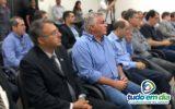 Paulo Filho — em destaque na imagem— participou do encontro com Rome Zema (Foto: Cíntia/Assessoria)