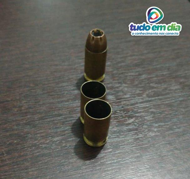 Uma das balas não foi deflagrada (Foto: PMMG/Divulgação)