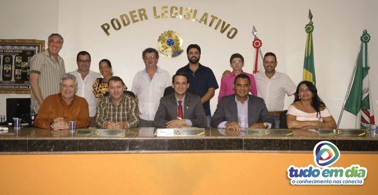 Primeira reunião da Câmara Municipal de Capinópolis sob comando de Luciano Belchior (Foto: Paulo Braga/Tudo Em Dia)