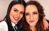 (esq) Letícia Lima e Ana Carolina (Foto: Divulgação)