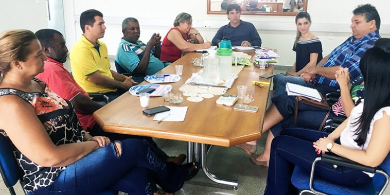 Secretariado se reúne com prefeito de Capinópolis (Foto: Divulgação)