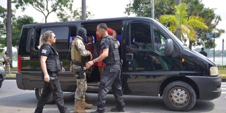 Polícia Civil faz operação de combate ao crime organizado Foto: Fred Magno/O TEMPO