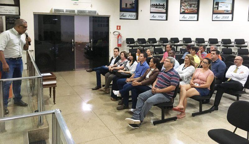Momento da realização da audiência pública (Foto: Divulgação)