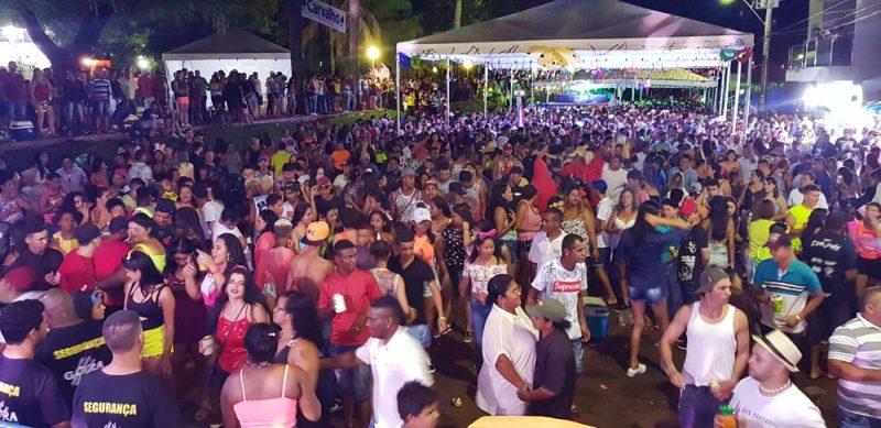 A segunda noite do Capim Folia 2019 recebeu um público estimado de cerca de 2 mil pessoas (Foto: Paulo Braga)