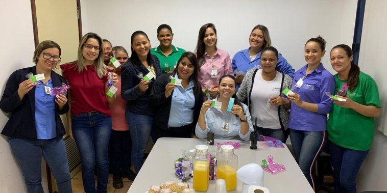Equipe da CRV Industrial (Foto: Michele Pereira)