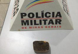 Droga apreendida em Santa Vitória (Foto: PMMG/Divulgação)