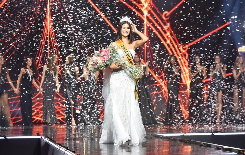 Júlia Horta foi eleita Miss Brasil BE Emotion 2019 Foto: Cleiby Trevisan/Miss Brasil BE Emotion