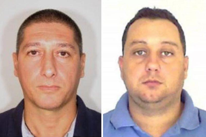 O policial reformado Ronnie Lessa, 48, e o ex-policial militar Élcio Vieira de Queiroz, 46 (Foto: Polícia)