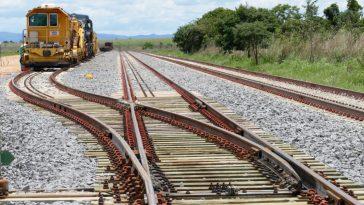 Trecho da ferrovia (Foto: ANTT)