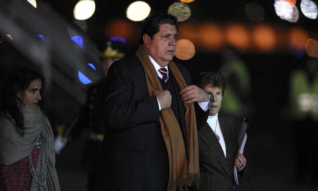 Alan García, em Buenos Aires em 2010. A. PAGNI AFP / GETTY