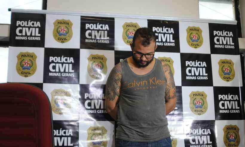 O criminoso figura na lista dos mais procurados de Minas Gerais, devido a sua alta periculosidade (foto: Tulio Santos/EM/D.A Press)