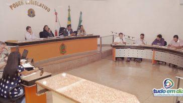 Reunião da Câmara Municipal de Capinópolis (Foto: Paulo Braga/Tudo Em Dia)
