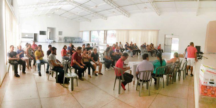 Reunião para tratar do Jemg (Foto: Divulgação)