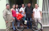 Ricardo Oliveira foi o ganhador da bicicleta (Foto: Divulgação)