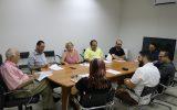 Prefeito Fued Dib recebe grupo de gestores de ensino superior