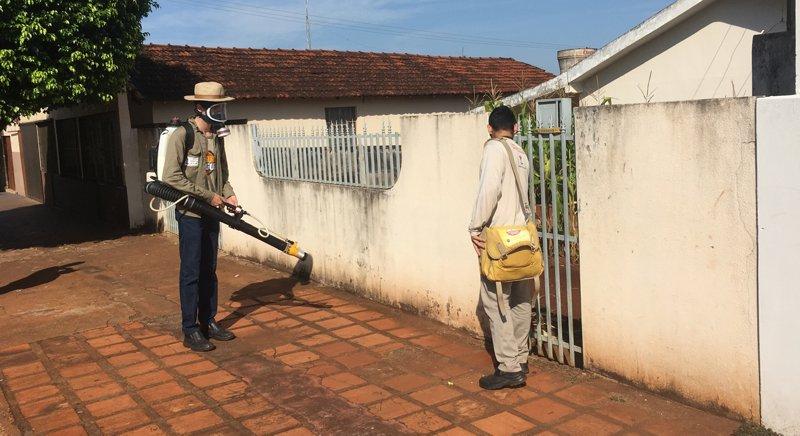 Funcionários da Sucam combatem os focos do Aedes Aegypti (Foto: Divulgação)