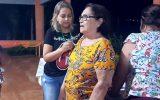 Cidinha é imunizada contra a gripe durante ação (Foto: Maria do Socorro Câmara)