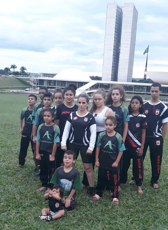 Equipe em Brasília (Foto/Divulgação)