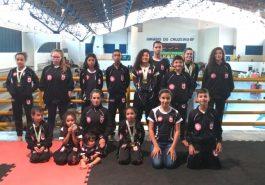 Equipe de Canápolis, Minas Gerais, brilho no campeonato (Foto: Divulgação)