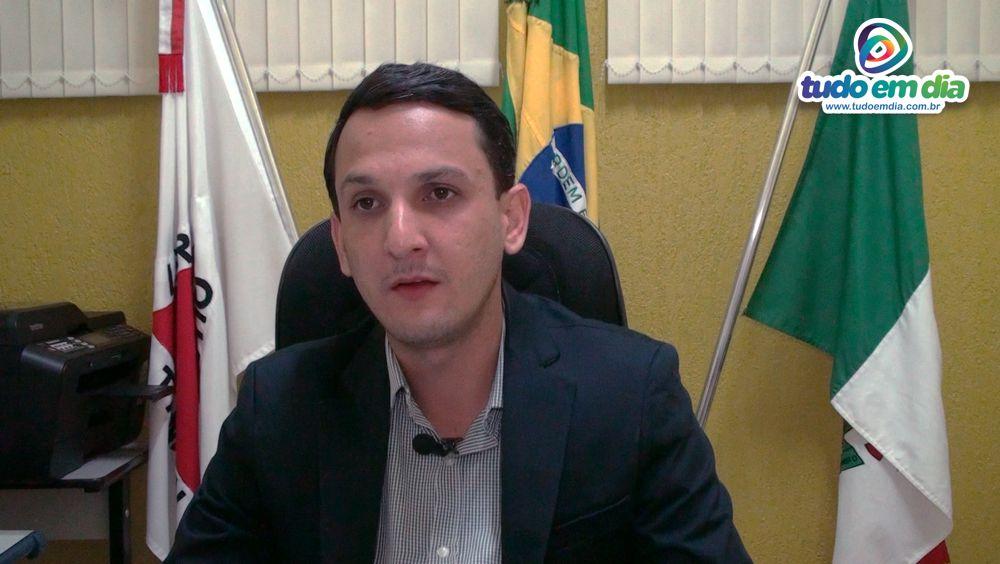 Presidente da Câmara Municipal de Capinópolis, Luciano Belchior (MDB/MG) — Foto: Tudo Em Dia