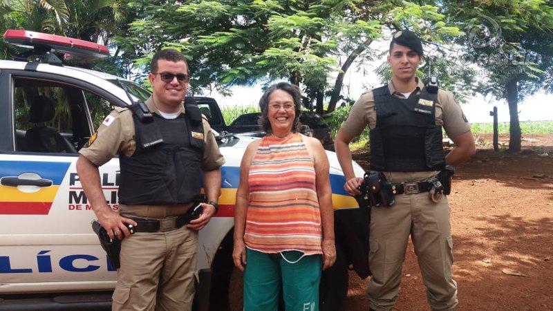 Patrulhamento rural em Capinópolis já visitou mais de cem propriedades (Foto: PMMG/Divulgação)