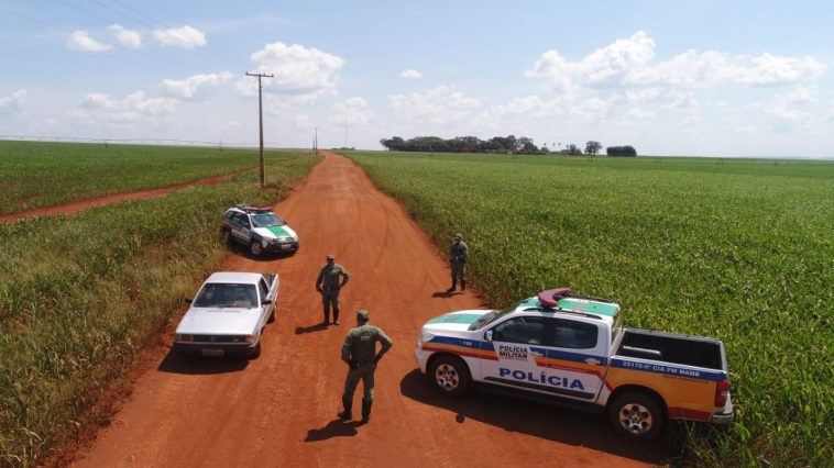 PMA intensificou patrulhamento na zona rural (Foto: PMA/Divulgação)