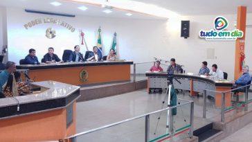 Sessão Ordinária do Legislativo Capinopolense do dia 08 de abril (Foto: Paulo Braga/Tudo Em Dia)