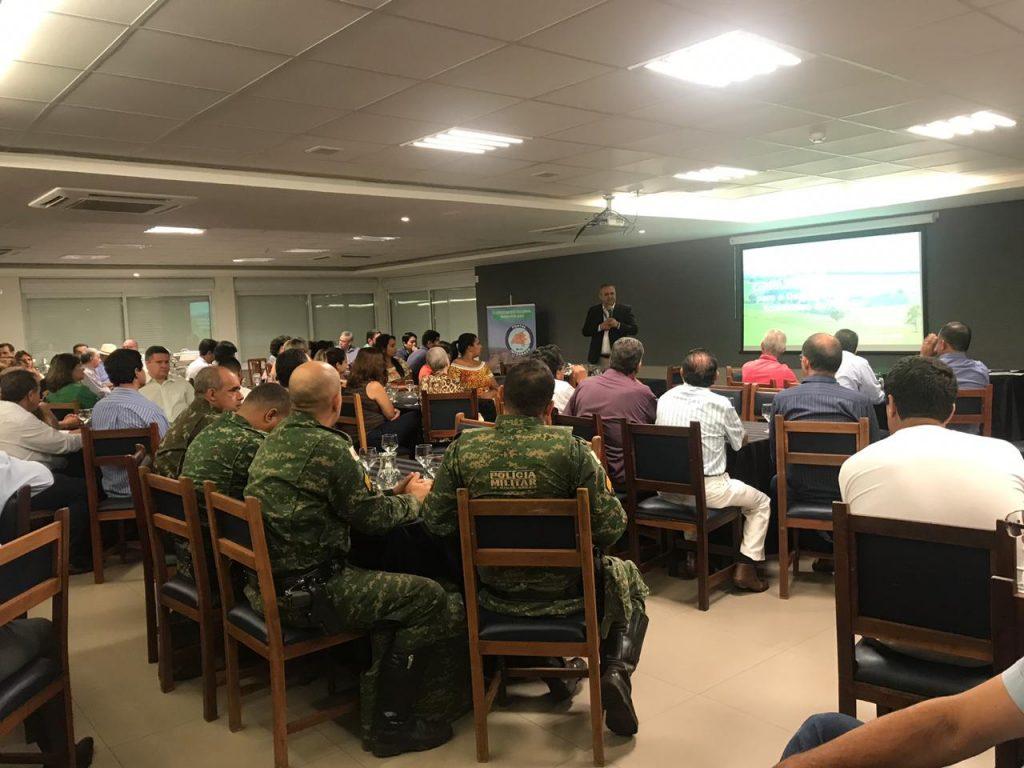 O lançamento do programa também contou com a presença de autoridades, forças e segurança, empresários e entidades de toda a região.