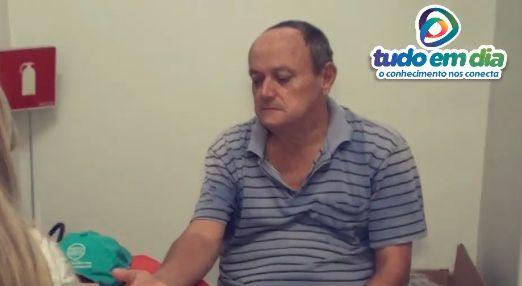 Jonas Araújo durante reportagem publicada pelo Tudo Em Dia em 2018 (Foto: Arquivo/Tudo Em Dia)