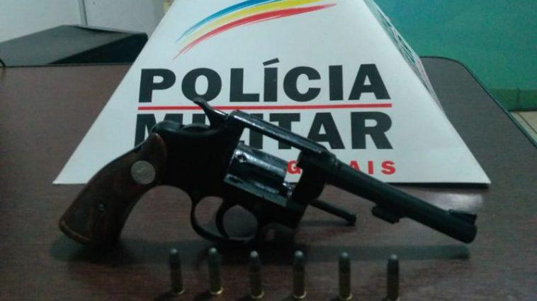 Arma apreendida (Foto: PMMG)